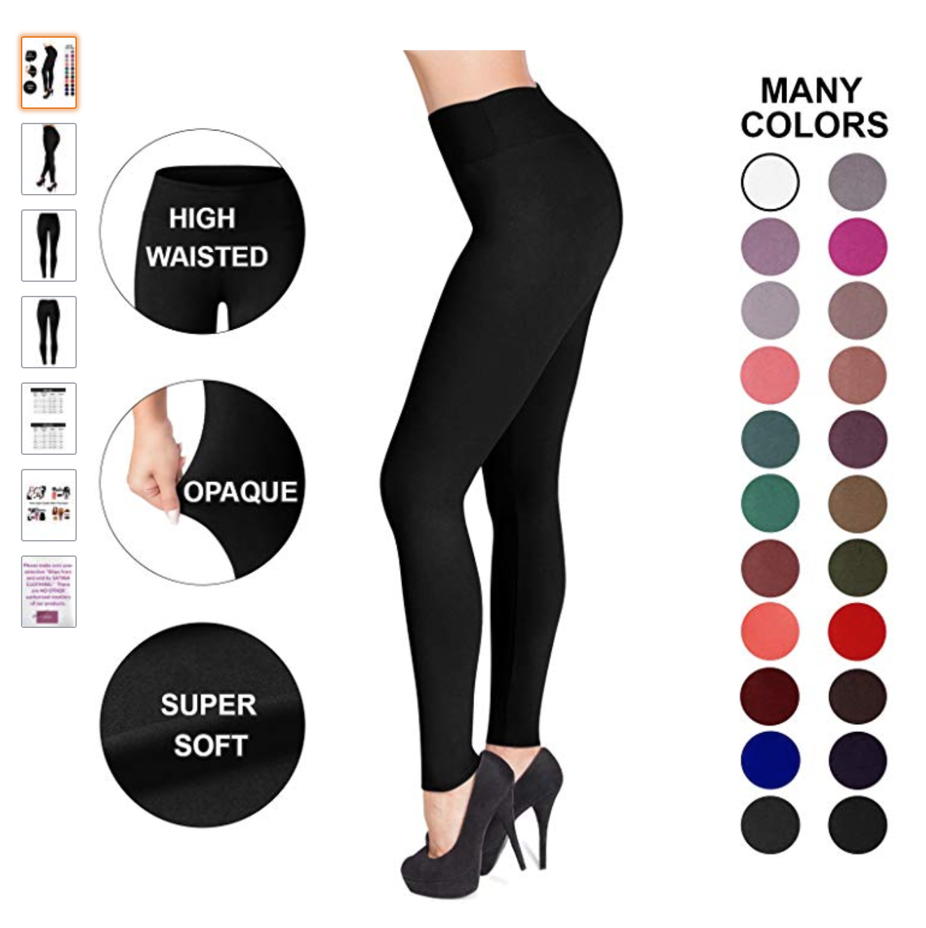 9041751d9a3 These  14  One Size Fits All  Leggings From Amazon Are Sending ...