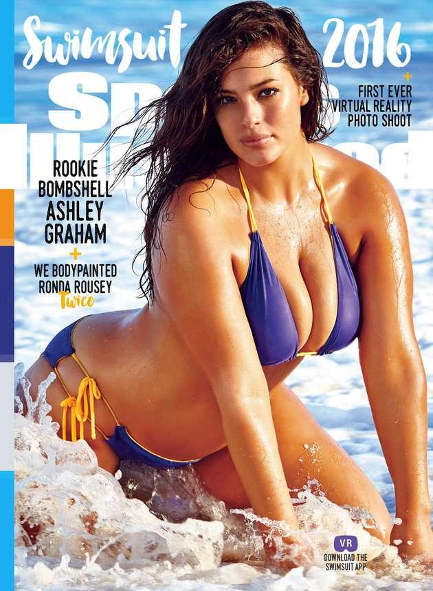 Ashley Graham plus size swimsuit NWT