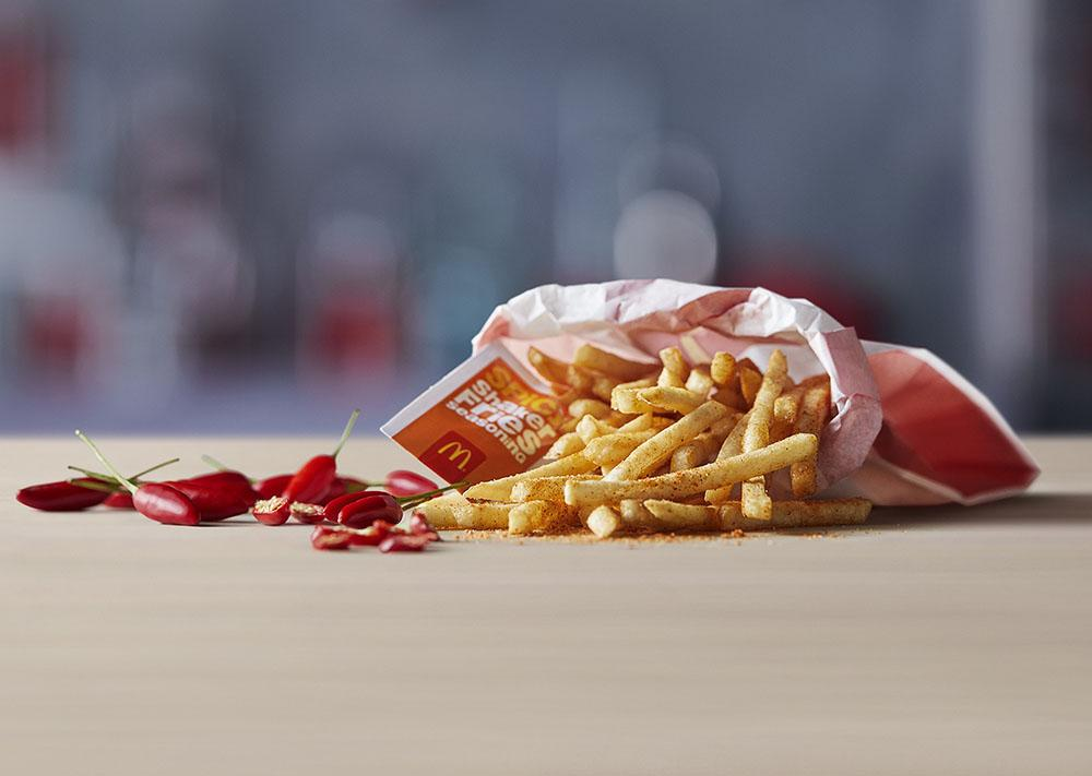 Spicy Shaker fries