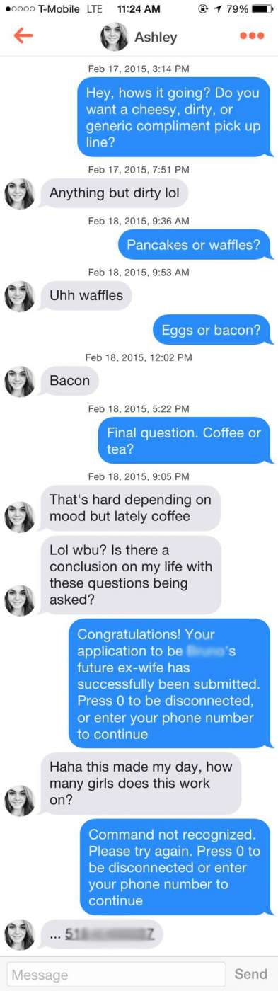 Most clever pick up lines