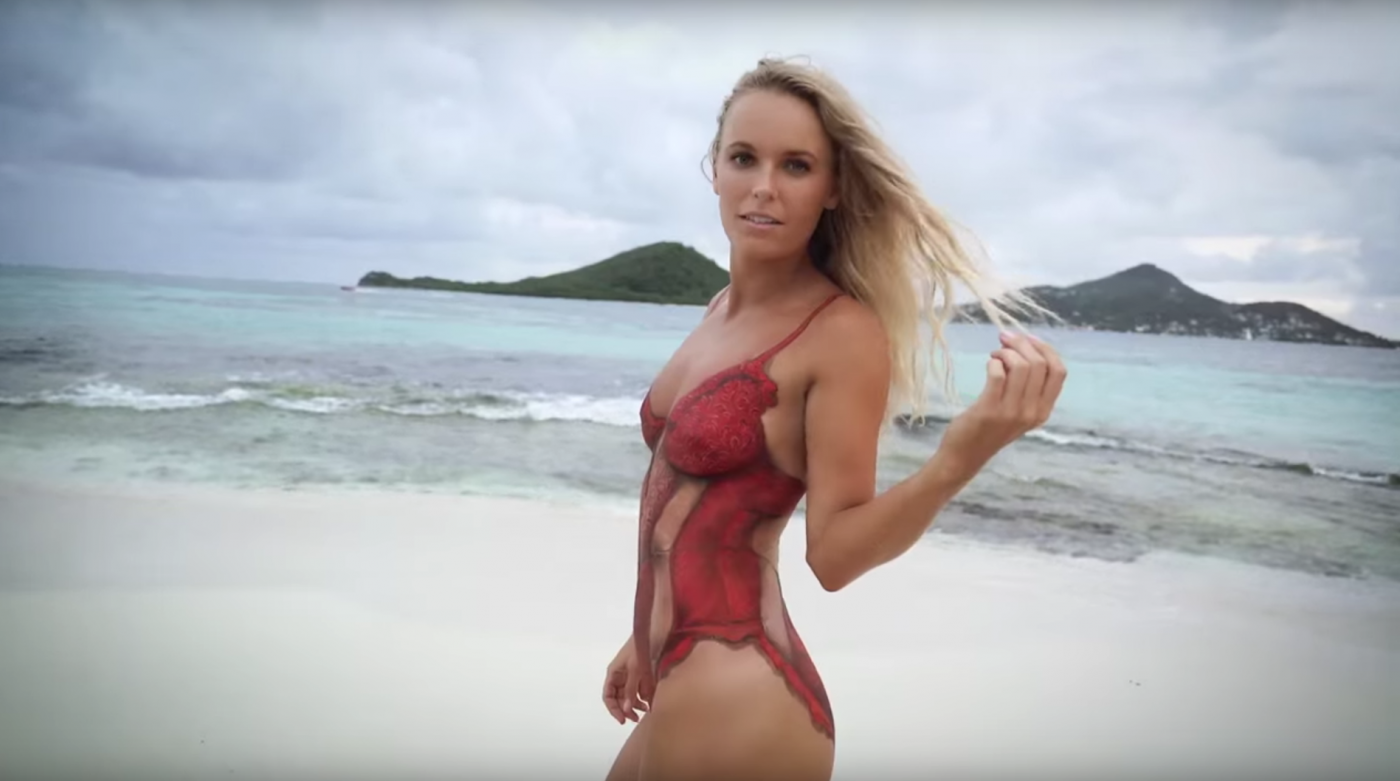 Confirm. All Caroline wozniacki nude pics gradually