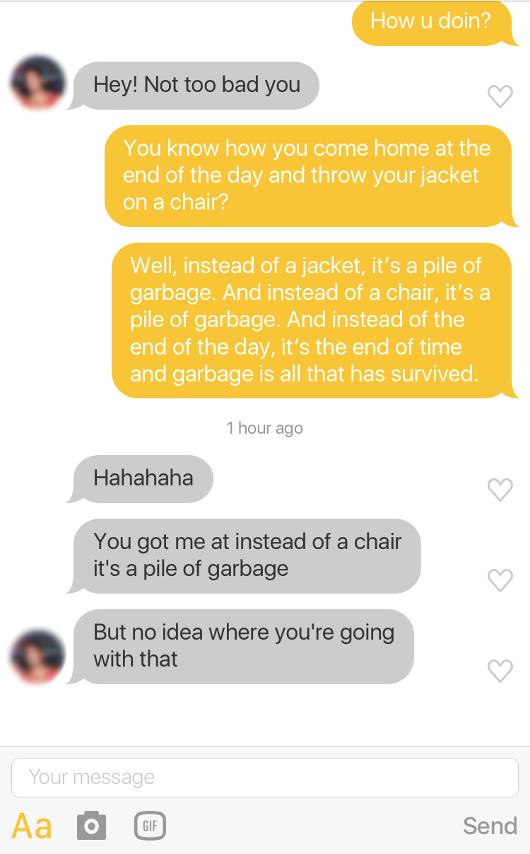 I Used Friends Quotes To Chat To Guys On Dating Apps And It Was